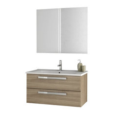 "33"" Larch Canapa Bathroom Vanity Set"