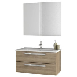 Vintage Contemporary Bathroom Vanities And Sink Consoles by TheBathOutlet