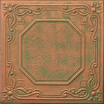 """Decorative Ceiling Tiles - 20""""x20"""" Topkapi Palace, Styrofoam Ceiling Tile, Copper Penny - Goes Over Popcorn And Most Ceiling Surfaces, Styrofoam, 20x20 (2.7 sqft), Adds Insulation, Easy Install, Light Weight, No Expensive Tools Needed, Paintable With Any Water-Based Paint"""