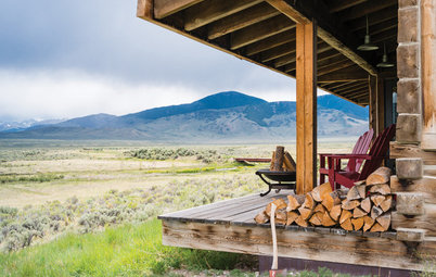 USA Houzz: A Rustic Cabin With Exquisite Views
