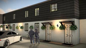 Renovation of 3 flats