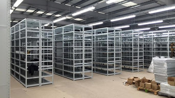 Mobile Shelving System Storage