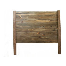 Headboard, Rustic Bedroom Furniture, Rustic Oak, King