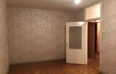 До и после: Двухкомнатная квартира с этническими деталями