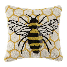 Honeycomb Bee Hook Pillow