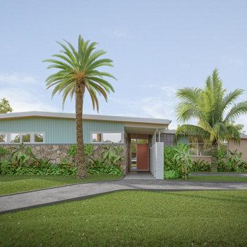 Nillumbik mid-century modern home