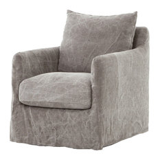 Four Hands Furniture - Kensington Banks Swivel Chair - Armchairs and Accent Chairs