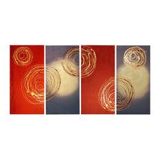 "Unite The Swirls, Wall Tapestry, 40""x80"""
