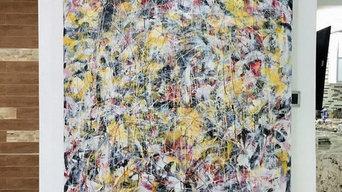 "Original painting ""Caribe""2014"