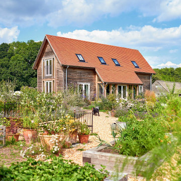 A dream barn-style home to downsize to in a New Forest village