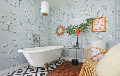 ¿Qué papel pintado para baños me conviene elegir?