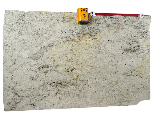 White gray light cream granite slabs colors for Cream colored granite countertops