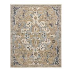 Rugsville Nolan Persian-Style Beige Wool Rug 39012 8'x10'