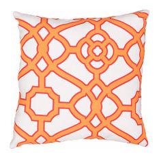 Pavilion Outdoor Pillow, Orange