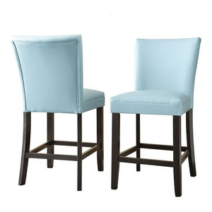Steve Silver Matinee Counter Chair, Aqua
