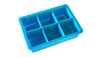 Mammoth Silicone Ice Cube Tray, Blue