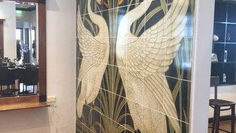 Wall Tile Mural