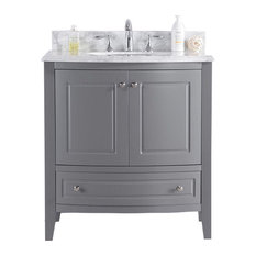 Laviva Estella Collection Gray 32 Bathroom Vanities And Sink Consoles