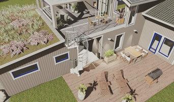 Förslag på vinterträdgård
