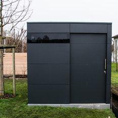 moderne ger teschuppen. Black Bedroom Furniture Sets. Home Design Ideas