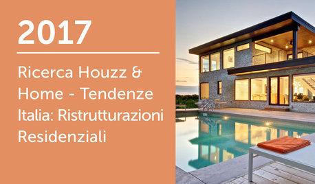 Ricerca Houzz & Home - Italia 2017: Ristrutturazioni Residenziali