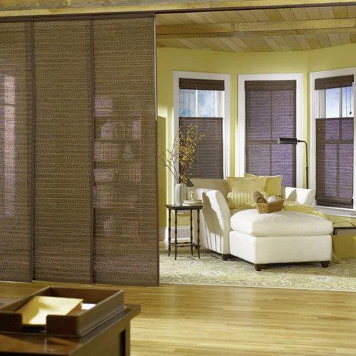 bali sliding panels natural shade fabrics vertical blinds