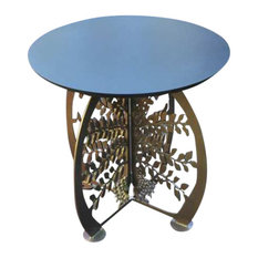 Cricket Forge - Tree of Life Patio Table - Side Tables and End Tables