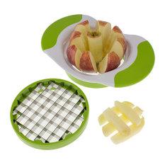 Freshware - Freshware 2-in-1 Fruit and Vegetable Cutter - Food Slicers