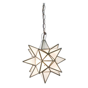 Frosted Star Chandelier, Small