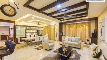 Home Interiors @ Adarsh Palm Retreat, Bangalore