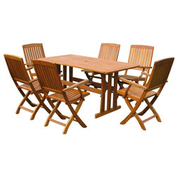 Craftsman Outdoor Dining Sets by International Caravan