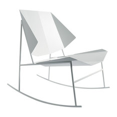 Terra Collection Rocking Chair, Signal White