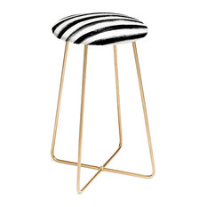 Deny Designs Kelly Haines Paint Stripes Counter Stool