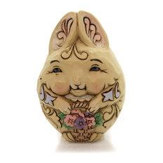 Jim Shore Animal Character Eggs Polyresin Hand Painted 6001079 Rabbit