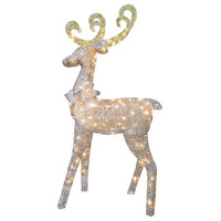 "60"" Reindeer Decoration With Clear Lights"