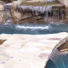 Derian Pools & Spas - Water Features