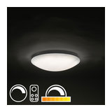 Ceiling Lamp 40cm White with Remote Control incl. LED - Extrema