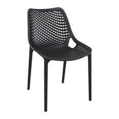 Compamia Air Dining Side Chair, Set of 2, Black