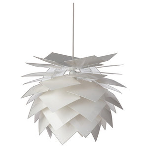 Illumin Desert Pendant Lamp, White, Large