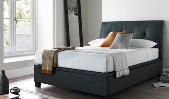 5ft King Size Accent Ottoman Bed in Smoke Grey