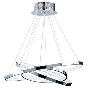 Kline 3-Ring LED Pendant