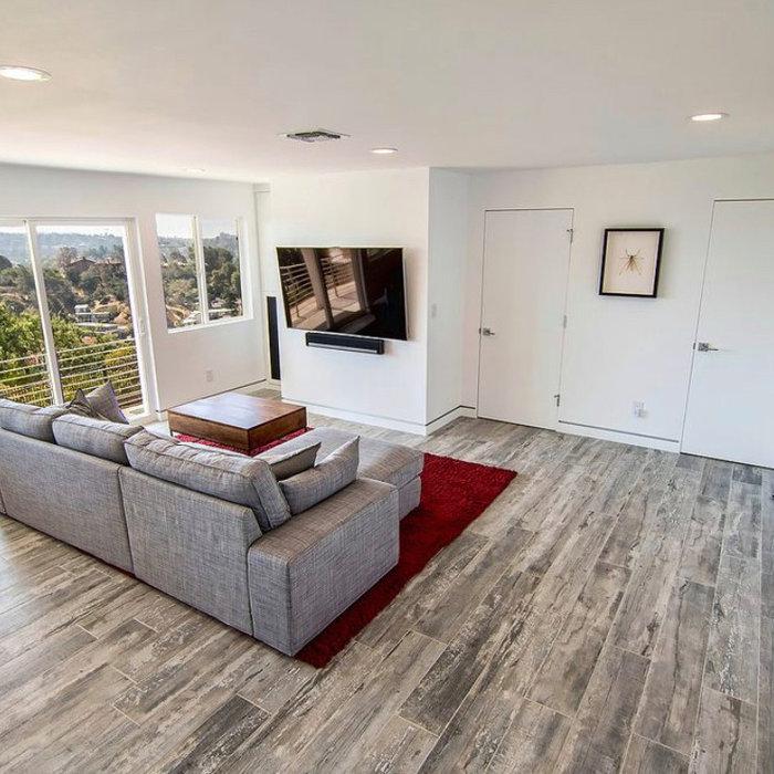 Living room remodel in Calabasas