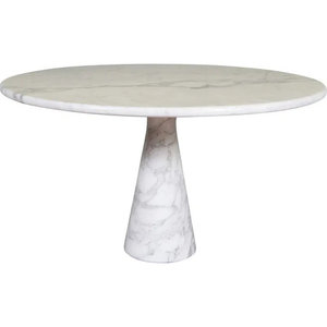 Marble Round Mangiarotti Style Dining Table