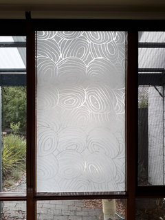 See Through Glass Panels On Door