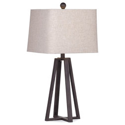 Transitional Table Lamps by BASSETT MIRROR CO.