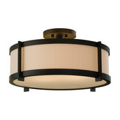 Feiss SF272 Stelle 2 Light Semi Flush Ceiling Fixture