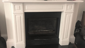 White honed Marble Surround made to Size