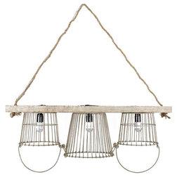 Unique Farmhouse Kitchen Island Lighting Basket Light Island Chandelier