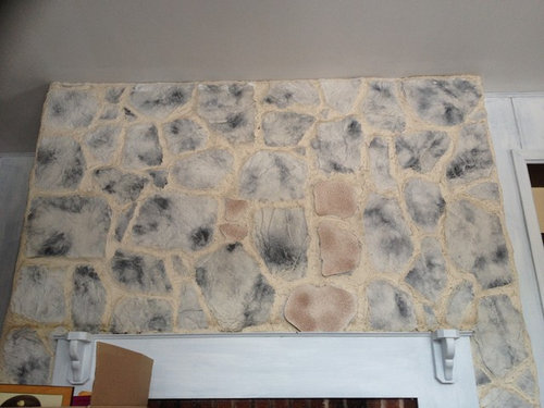 What To Do With This Fake Rock Wall - Fake rock flooring