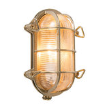 Wall/Ceiling Lamp Nautica 1 Oval Gold